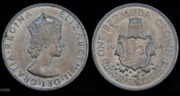 1964 BERMUDA CROWN  LOW MINTAGE  WORLD SILVER COIN