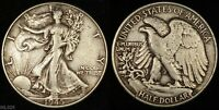 1945 WALKING LIBERTY HALF DOLLAR  LIGHTLY CIRCULATED  SILVER COIN