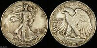 1942 WALKING LIBERTY HALF DOLLAR  LIGHTLY CIRCULATED  SILVER COIN