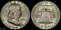 1961 D  FRANKLIN HALF DOLLAR  LIGHTLY CIRCULATED  SILVER COIN