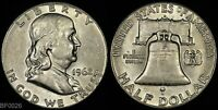 1962 D  FRANKLIN HALF DOLLAR  LIGHTLY CIRCULATED  SILVER COIN