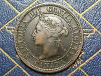 1882 CANADIAN LARGE PENNY QUEEN VICTORIA LOT B4