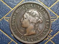 1896 CANADIAN LARGE PENNY QUEEN VICTORIA LOT B28