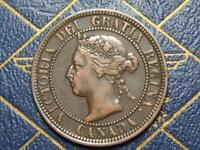 1900H CANADIAN LARGE PENNY QUEEN VICTORIA LOT B36