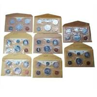 LOT OF EIGHT   1965 CANADIAN PROOF SET