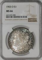 1903-O MORGAN DOLLAR $ 941246-50 MINT STATE 66 NGC