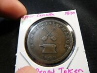 X34 CANADA UPPER CANADA 1820 COMMERCIAL CHANGE 1/2 PENNY TOK