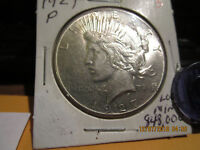 1927-P PEACE DOLLAR MINT STATE
