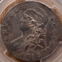 1815/2 O.101 BUST HALF DOLLAR PCGS VF30 TOUGH & POPULAR   DA