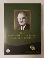 2014 FRANKLIN D. ROOSEVELT COIN AND CHRONICLES SET W OGP