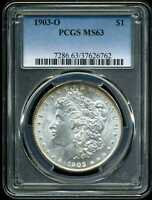 1903-O $1 MORGAN SILVER DOLLAR MINT STATE 63 PCGS 37626762
