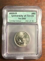 ICG SAMPLE 2002 D 25C UNIVERSITY OF TEXAS FALL 2002 LIMITED
