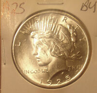 1925 PEACE DOLLAR BU .PRICED TO SELL..LOT 3643