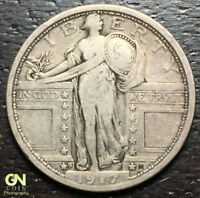 1917 S TYPE 1 STANDING LIBERTY QUARTER  --  MAKE US AN OFFER  R2500