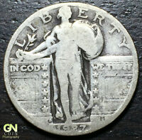1927 S STANDING LIBERTY QUARTER  --  MAKE US AN OFFER  Y8022
