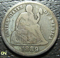 1889 P SEATED DIME  --  MAKE US AN OFFER  W2548  ZXCV