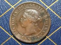 1895 CANADIAN LARGE PENNY QUEEN VICTORIA LOT B20