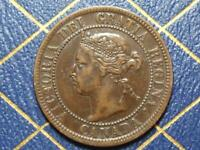1899 CANADIAN LARGE PENNY QUEEN VICTORIA LOT B27
