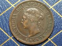 1901 CANADIAN LARGE PENNY QUEEN VICTORIA LOT B35