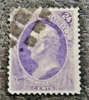 NYSTAMPS US STAMP  153 USED $230