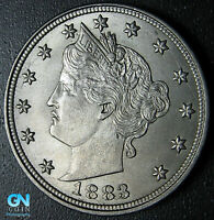 WITH CENTS 1883 LIBERTY V NICKEL  --  MAKE US AN OFFER  G9225
