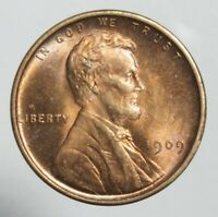 1909 V.D.B. LINCOLN WHEAT CENT SUPERB SHARP AND EYE PLEASING COIN PHILLY MINT