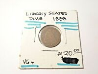 1888 SEATED LIBERTY DIME VG   168