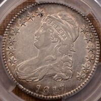 181.7 O.103 PUNCTUATED DATE BUST HALF PCGS XF40 TOUGH    DAV