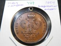Y27 ITALY CAMBRA 1854 INAUGURATION MEDAL