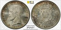 F181 SWEDEN 1928 G 2 KRONER PCGS MS 65  CATALOG VALUE $175 U