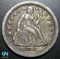 1842 O SEATED DIME  --  MAKE US AN OFFER  P0964