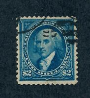 DRBOBSTAMPS US SCOTT 277 USED WELL CENTERED STAMP  SEE DESCR