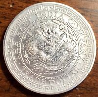 2019 1 OZ .999 FINE SILVER ORIENTAL TRADE DRAGON $1 EAST IND
