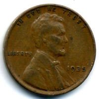 1935 P WHEAT CENT 1 CENT KEY DATE US CIRCULATED ONE LINCOLN  CENT COIN928