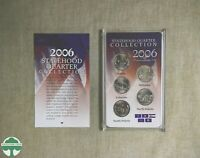 2006 P STATEHOOD QUARTER COLLECTION WITH BOX AND PAPERS   CO