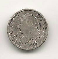 1832 CAPPED BUST HALF DIME :  GOOD