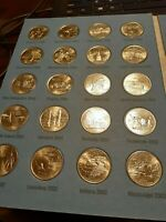 1999   2009 STATE QUARTER & TERRITORY COIN SET WITH ALBUM 60