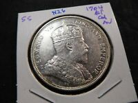 N26 BRITISH STRAITS SETTLEMENTS 1904 DOLLAR CHOICE AU