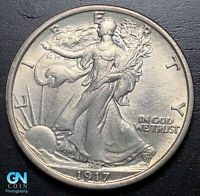 1917 P WALKING LIBERTY HALF DOLLAR --  MAKE US AN OFFER  P3537