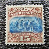 NYSTAMPS US STAMP  118 USED $800