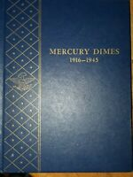 MERCURY DIME COMPLETE SET 1916 1945. ALL KEY DATES COMPLETE