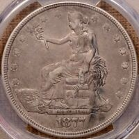 1877 TRADE DOLLAR PCGS XF40 VERY TOUGH AND POPULAR TYPE