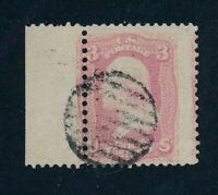 DRBOBSTAMPS US SCOTT 64 USED STAMP W/CLEAN PF CERT