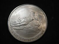 P3 ITALY OPERA MAXIMA IN SECULIS SILVER MEDAL GOYA'S NUDE 50