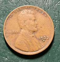 GREAT 1932-D LINCOLN WHEAT CENT   SHIPS FREE K22