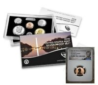 2019 10 COIN SILVER PROOF SET & 2019