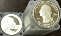 40   2010 S SILVER PROOF STATE PARK   YOSEMITE   QUARTER ROL