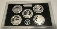 2013 SILVER QUARTER PROOF SET U.S. MINT AMERICA THE BEAUTIFU