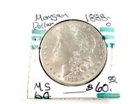 1888-O  U.S.  MORGAN SILVER DOLLAR $1   1787
