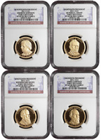 2011 S PROOF $1 PRESIDENTIAL 4PC. SET NGC PF69UC EARLY RELEA